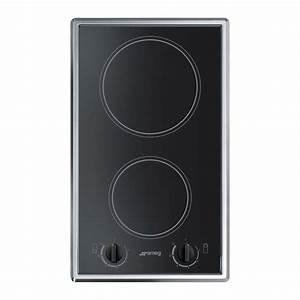 Cadre Inox Pour Plaque Vitroceramique : plaque vitroc ramique 2 foyers miroir noir cadre inox ~ Premium-room.com Idées de Décoration