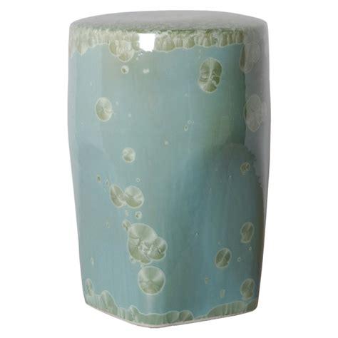 outdoor garden ceramic tapered garden stool