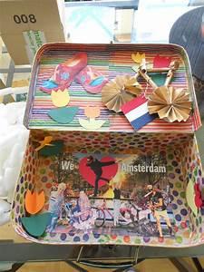 Amsterdam Was Machen : reisekoffer amsterdam selbstgemacht holl ndische blumen clocks das typische fahrrad diy als ~ Watch28wear.com Haus und Dekorationen