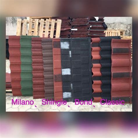 current cost of coated roofing sheet roof tiles in