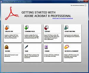 adobe acrobat professional 80 software downloads With adobe acrobat standard free download