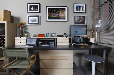 vintage looking kitchen cabinets reworking the home office with a dash of ikea lifehacker