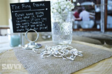 Rustic Bridal Shower Brunch Savvy Style
