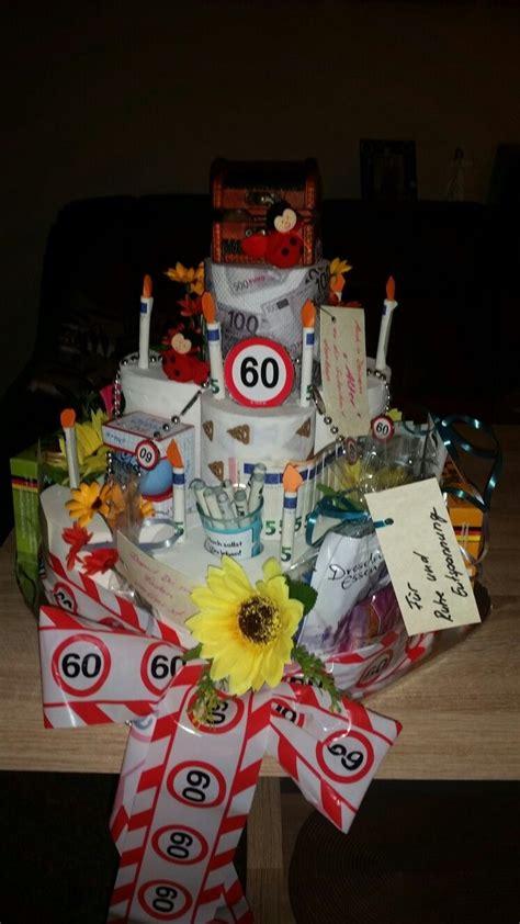lustige geschenke zum geburtstag geschenk zum 60 geburtstag basteln geschenk zum 60 geburtstags geschenk mann und