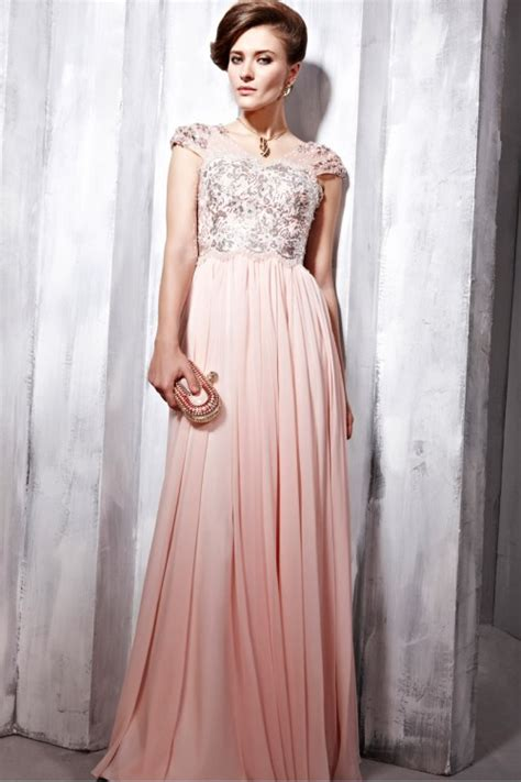 formal bridesmaid dresses glamorous couture light pink sequin prom dress 6568387