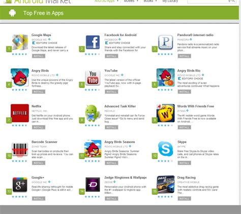 free apps for android more than 5 000 free android apps available in app
