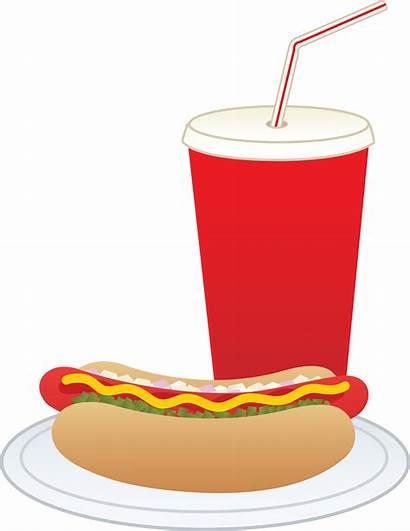Clipart Dog Drink Clip Hotdog Dogs Soda