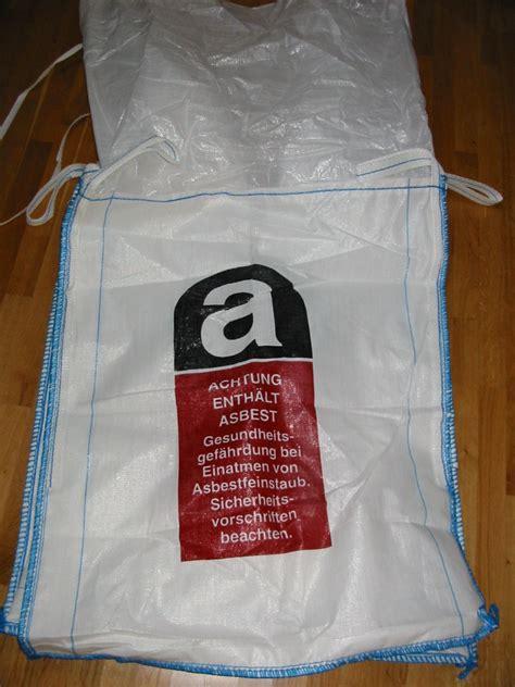 big bag asbest erco verpackungen gmbh