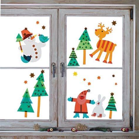Fensterdeko Basteln Weihnachten by Sachenmacher Fensterbilder Weihnachten Bastelset Winter