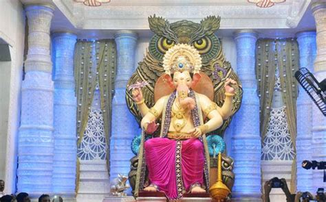 ganesh chaturthi 2016 here s the look at mumbai s lalbaugcha raja culture news