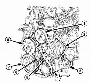 2005 Chrysler Pacifica V6 3 8l Serpentine Belt Diagram