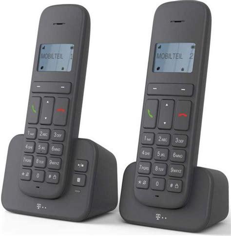 telekom telefon analog schnurlos ca  duo otto