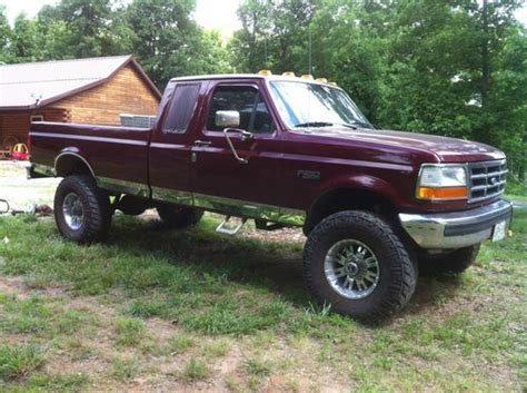 buy car manuals 1998 ford f250 seat position control sell used 1996 ford 4x4 powerstroke diesel extended cab 5 speed manual in delta missouri