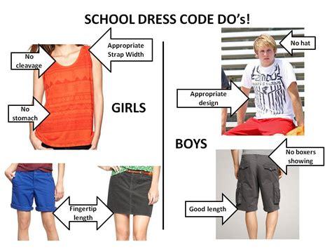 Elementary Dress Code by Language Arts