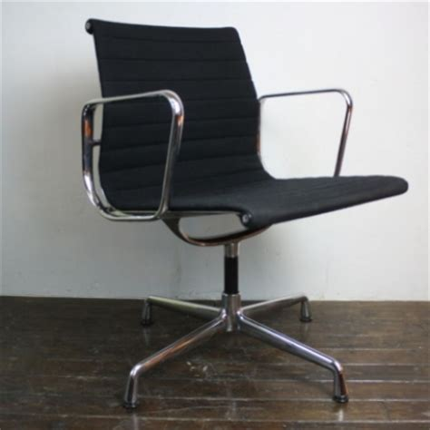 eames herman miller vitra black low back aluminium