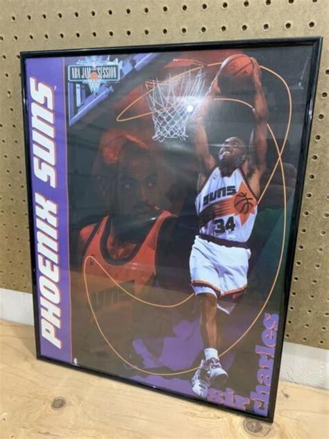Charles barkley was on bickley and marotta on arizona sports 98.7 on tuesday, and made an astute point and observation about #3 of the phoenix suns handles the ball during the second half of the nba game against the houston rockets at talking stick. Vintage 1990's Charles Barkley Phoenix Suns Slam Dunk NBA Poster Framed VTG | eBay