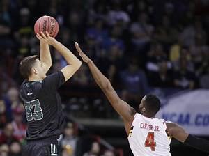Men's college basketball: No. 5 seed Maryland beats No. 13 ...