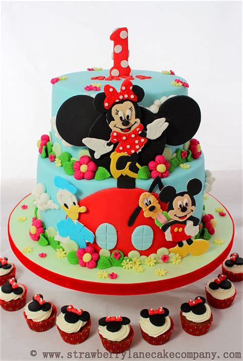 disney mickey mouse clubhouse cake  cupcakes disney  day