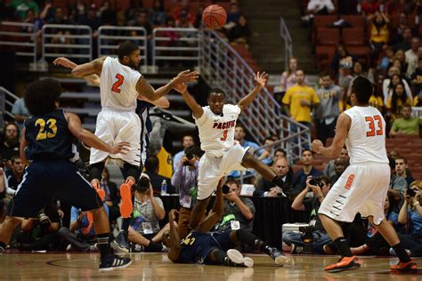 pacific completes farewell  defeats uci   mid