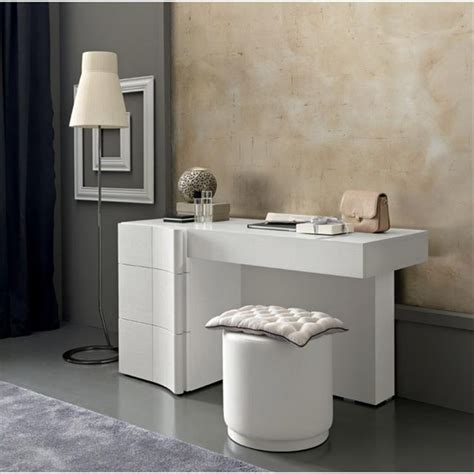 modern makeup vanity table shelby