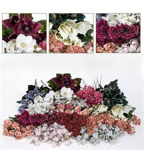 bulk artificial silk flowers magnolia calla lily sale