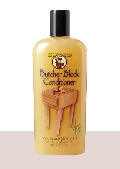 Butcher Block Conditioner  Howard Products