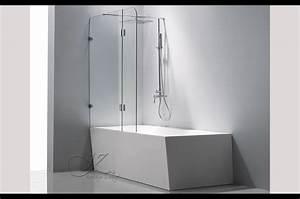 Baignoire porte douche gallery of foremost porte de for Porte de douche coulissante avec meuble salle de bain villeroy et boch subway