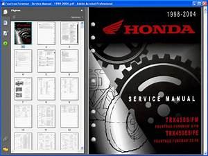 Honda Fourtrax Foreman  1998-2004