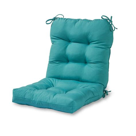 greendale home fashions solid teal outdoor dining chair