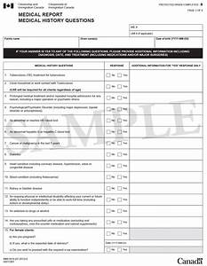 Medical Form Immigration – templates free printable