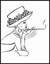 Hat Deviantart Drawing Painting Drawings Fabric Tekenen Kunst Stencil Doodle Wayne John Line Retro Mensen Gezichten Tekeningen Aluminiumfolie Kleurboeken Lijntekeningen sketch template