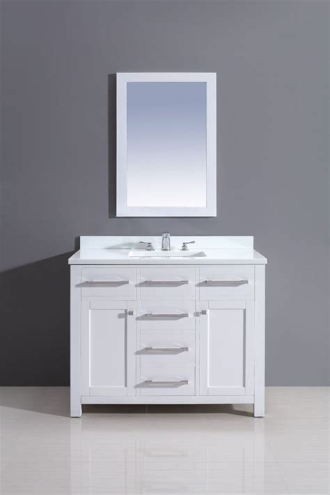 jade bath courtyard rialto white vanity 42 inch x 34 5
