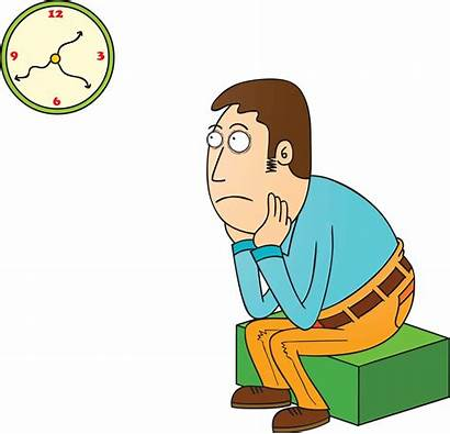 Waiting Clipart Around Boring Guy Cliparts Looking