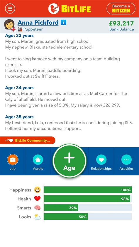 unconditional support matter showing got every exploiting found bitlifeapp bug comments bitlife