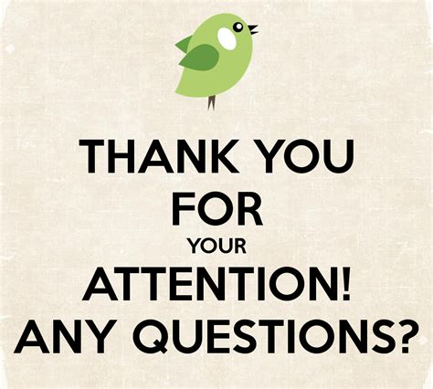 Thank You For Your Attention! Any Questions? Poster  Volha  Keep Calmomatic