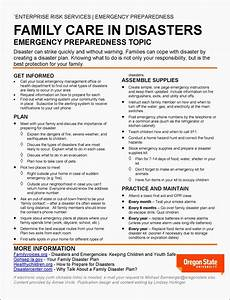 9 Family Emergency Plan For Disaster
