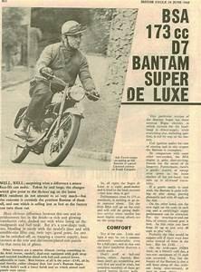 My 1966 Bsa Bantam D7 Super Restoration