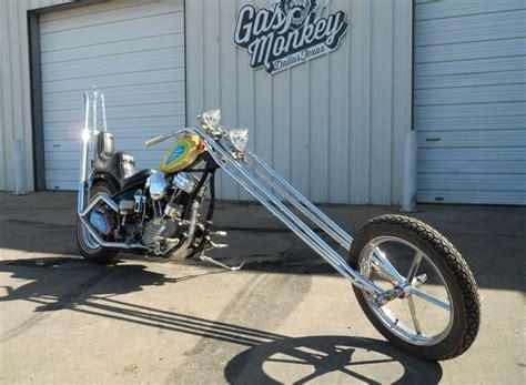 Gas Monkey Motorcycle by Gas Monkey Garage Has An Original Wink Eller Custom Built