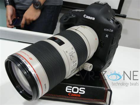 Canon Singapore Launches Eos1d X Professional Digital Slr