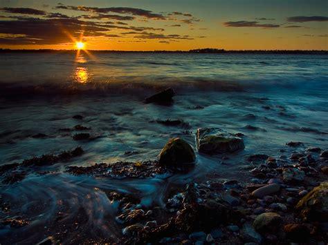Inspirational Peaceful Sunset Wallpaper - Free Downloads