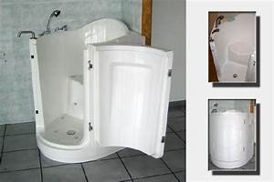 Porte Pour Baignoire : baignoire a porte ovalle ovallo ~ Premium-room.com Idées de Décoration