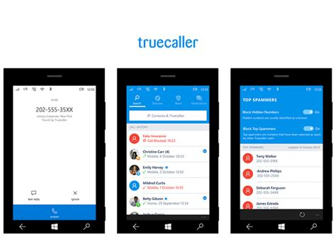 truecaller app for windows phone updated with support for