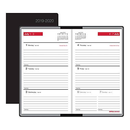 Office Depot Hours On July 4 by Office Depot Brand Weekly Academic Planner 3 58 X 6