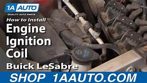 How To Install Replace Engine Ignition Coil Buick Lesabre