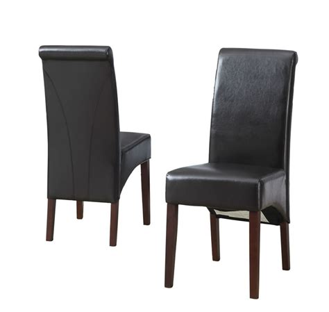 simpli home avalon deluxe parson chair 2 pack the home