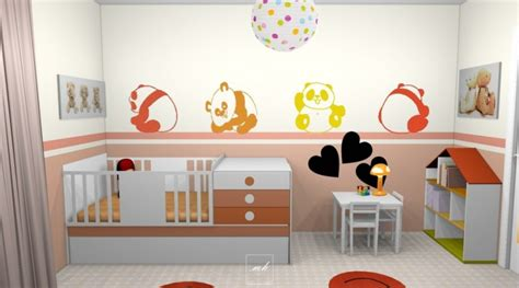 chambre enfant 2 ans decoration chambre fille 2 ans