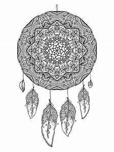 16 Coloring Pages Of Dreamcatchers