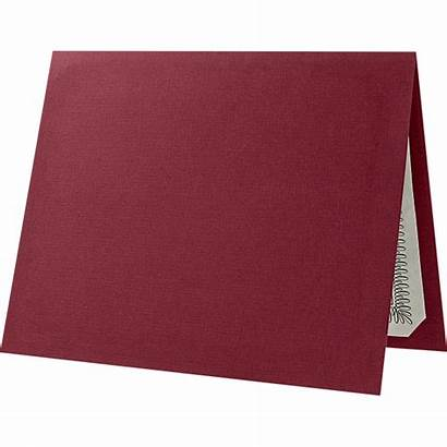 Burgundy Linen Certificate Holders Paper Blank Texture