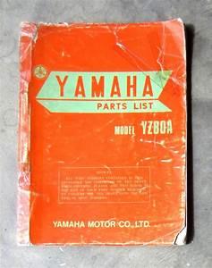 Yamaha Yz80 1973