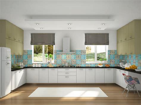 u shaped modular kitchen design cosa u shaped modular kitchen designs india homelane 8651